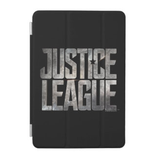 Justice League | Justice League Metallic Logo iPad Mini Cover