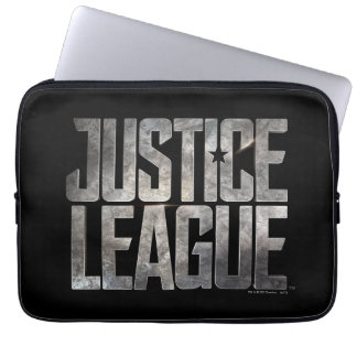 Justice League | Justice League Metallic Logo Laptop Sleeve
