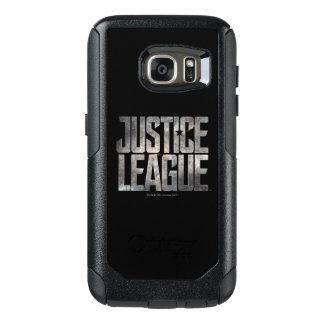 Justice League | Justice League Metallic Logo OtterBox Samsung Galaxy S7 Case
