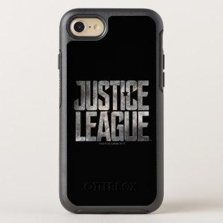 Justice League | Justice League Metallic Logo OtterBox Symmetry iPhone 8/7 Case