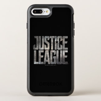Justice League | Justice League Metallic Logo OtterBox Symmetry iPhone 8 Plus/7 Plus Case