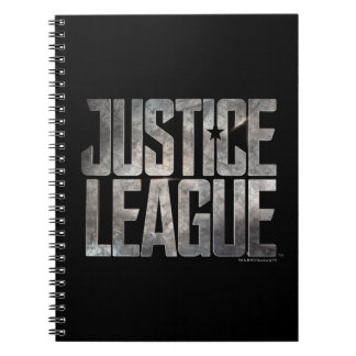 Justice League | Justice League Metallic Logo Spiral Notebook