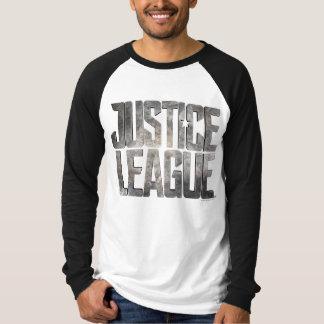 Justice League   Justice League Metallic Logo T-Shirt
