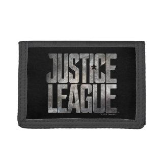 Justice League | Justice League Metallic Logo Trifold Wallets