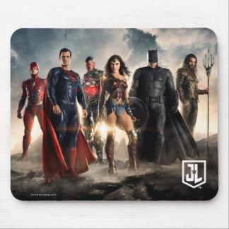 Justice League | Justice League On Battlefield Mouse Mat