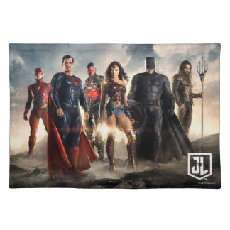Justice League | Justice League On Battlefield Placemat