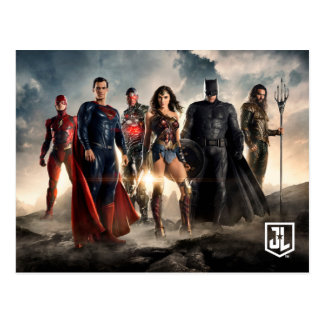 Justice League | Justice League On Battlefield Postcard