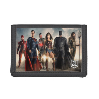 Justice League | Justice League On Battlefield Tri-fold Wallets