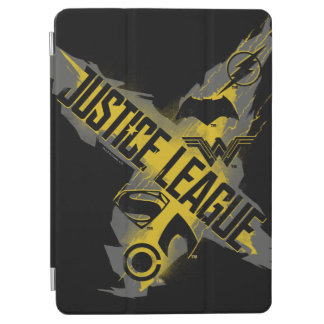 Justice League | Justice League & Team Symbols iPad Air Cover
