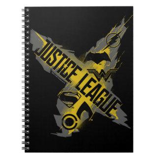 Justice League | Justice League & Team Symbols Notebooks