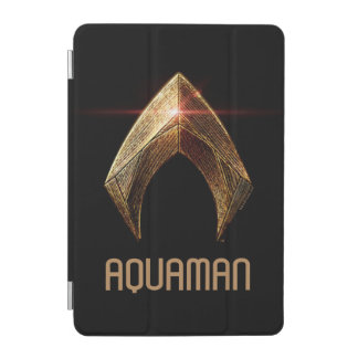 Justice League | Metallic Aquaman Symbol iPad Mini Cover