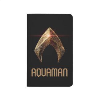 Justice League | Metallic Aquaman Symbol Journal