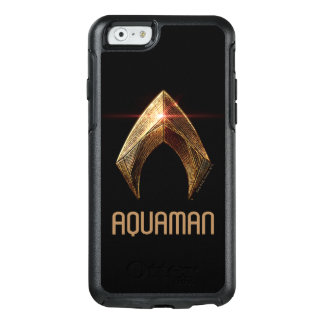 Justice League | Metallic Aquaman Symbol OtterBox iPhone 6/6s Case
