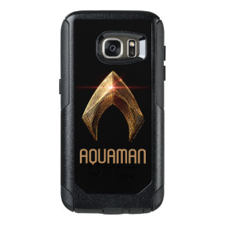 Justice League | Metallic Aquaman Symbol OtterBox Samsung Galaxy S7 Case