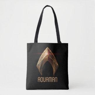 Justice League | Metallic Aquaman Symbol Tote Bag