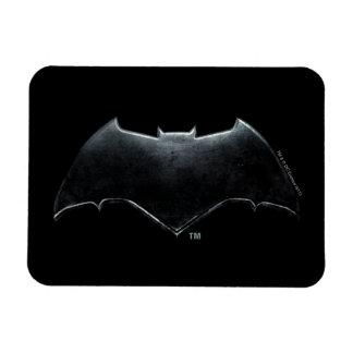 Justice League | Metallic Batman Symbol Magnet