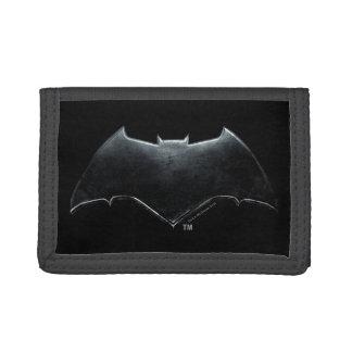 Justice League | Metallic Batman Symbol Tri-fold Wallet