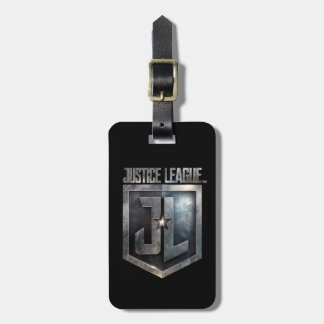 Justice League | Metallic JL Shield Luggage Tag