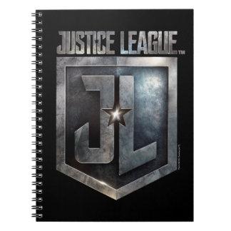 Justice League | Metallic JL Shield Notebooks
