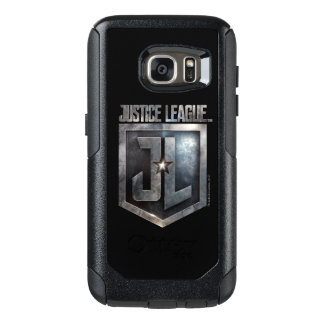 Justice League | Metallic JL Shield OtterBox Samsung Galaxy S7 Case