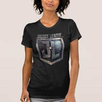 Justice League   Metallic JL Shield T-Shirt