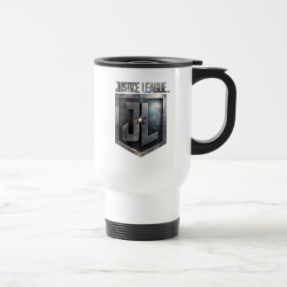 Justice League | Metallic JL Shield Travel Mug