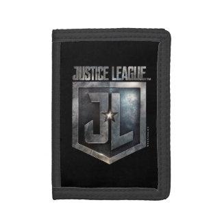 Justice League | Metallic JL Shield Tri-fold Wallets