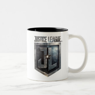 Justice League | Metallic JL Shield Two-Tone Coffee Mug