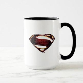 Justice League | Metallic Superman Symbol Mug