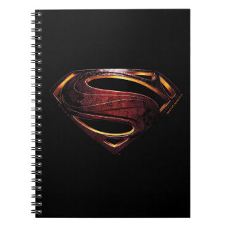 Justice League | Metallic Superman Symbol Notebook