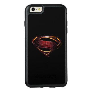 Justice League | Metallic Superman Symbol OtterBox iPhone 6/6s Plus Case