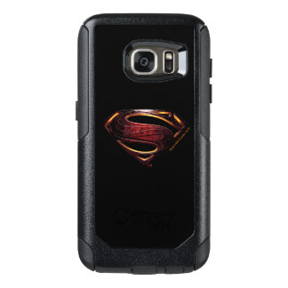 Justice League | Metallic Superman Symbol OtterBox Samsung Galaxy S7 Case