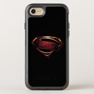 Justice League | Metallic Superman Symbol OtterBox Symmetry iPhone 8/7 Case