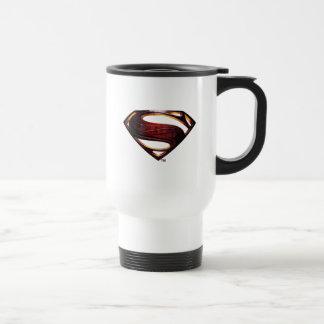 Justice League | Metallic Superman Symbol Travel Mug