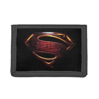 Justice League | Metallic Superman Symbol Tri-fold Wallets