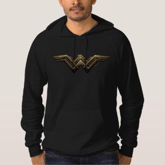 Justice League | Metallic Wonder Woman Symbol Hoodie