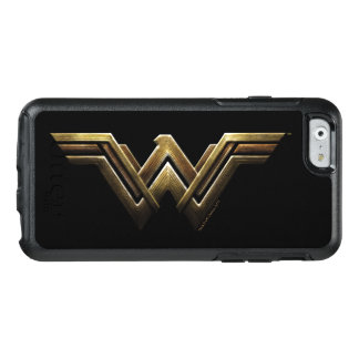 Justice League | Metallic Wonder Woman Symbol OtterBox iPhone 6/6s Case