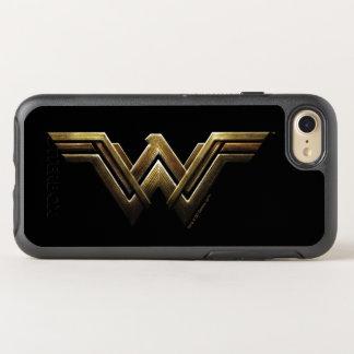 Justice League | Metallic Wonder Woman Symbol OtterBox Symmetry iPhone 8/7 Case