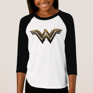 Justice League | Metallic Wonder Woman Symbol T-Shirt