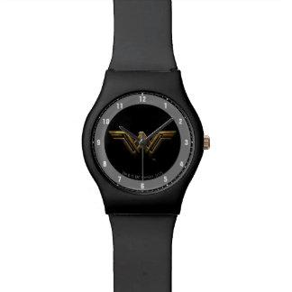 Justice League | Metallic Wonder Woman Symbol Watch