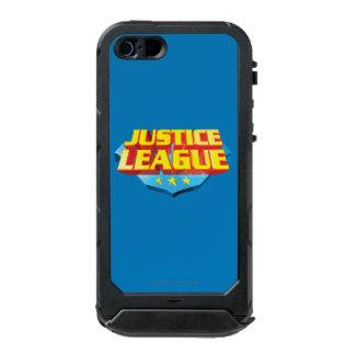 Justice League Name and Shield Logo Incipio ATLAS ID™ iPhone 5 Case
