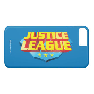 Justice League Name and Shield Logo iPhone 7 Plus Case
