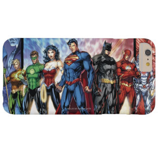 Justice League | New 52 Justice League Line Up Barely There iPhone 6 Plus Case