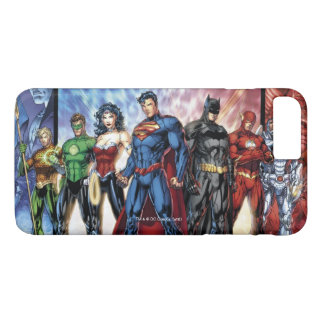 Justice League | New 52 Justice League Line Up iPhone 8 Plus/7 Plus Case