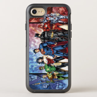 Justice League | New 52 Justice League Line Up OtterBox Symmetry iPhone 8/7 Case