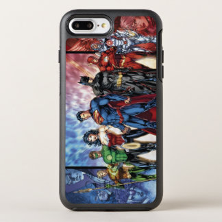 Justice League | New 52 Justice League Line Up OtterBox Symmetry iPhone 8 Plus/7 Plus Case