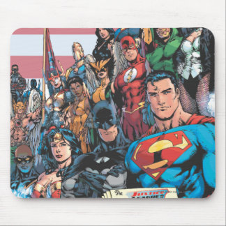 Justice League of America First Issue Mouse Mat