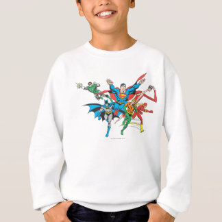 Justice League of America Group 4 Sweatshirt