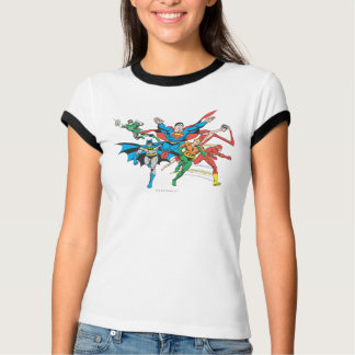 Justice League of America Group 4 Tee Shirts