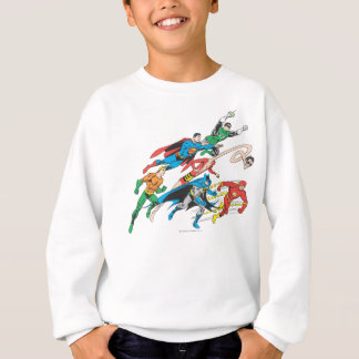 Justice League of America Group 5 Sweatshirt